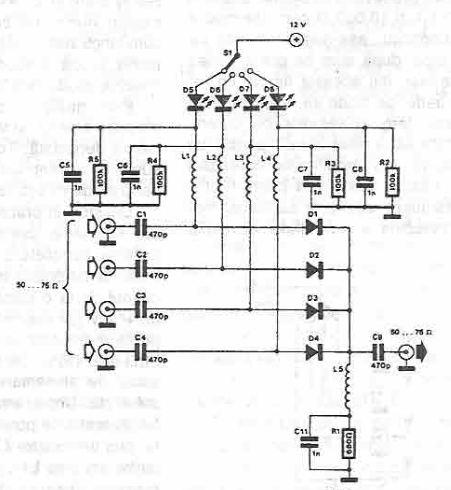 antenna switch circuit