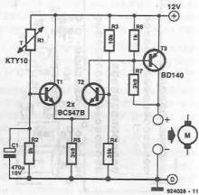12v fan controller circuit diagram