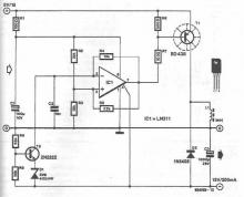 5 to -15 volts DC DC converter circuit diagram electronic project