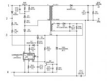 LNK404EG led driver electronic project circuit design