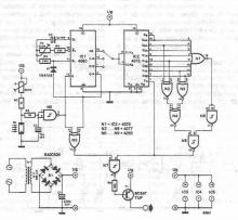 Automatic turn on off for lights circuit