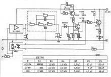 Electronic power limiter electronic project circuit diagram