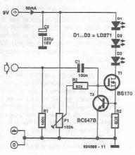 Wireless audio transmitter circuit diagram