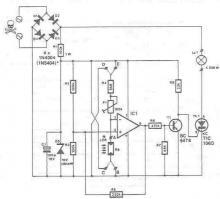 Light sensitive switch circuit diagram electronic project