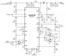 12-13V step up power uspply from 2.5-5.5V using MAX17075